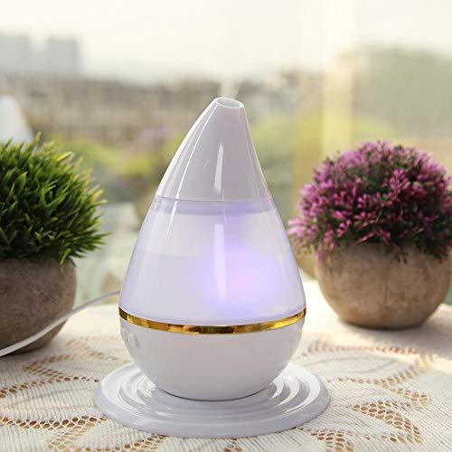 Zoternen - Difusor de aceites Esenciales, humidificador de Aire portátil con LED para Dormitorio, SPA, Masaje, Yoga, Oficina