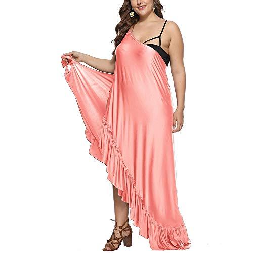 Traje de baño de playa encubrimiento Para mujer Bikini Beach Cover Ups - Talla de correa de espagueti más grande para arriba para el traje de baño sin espalda traje de baño traje de baño abrigo largo