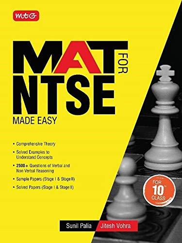 MAT FOR NTSE