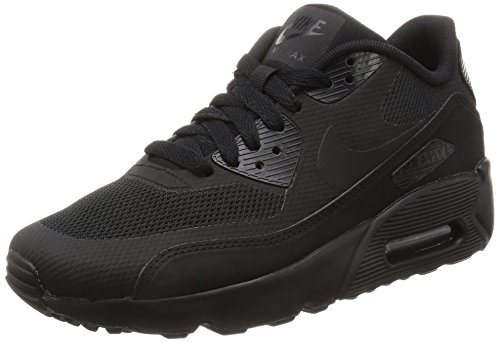 Nike Air Max 90 Ultra 2.0 (GS), Sneaker Bambino, Nero Black, 35.5 EU