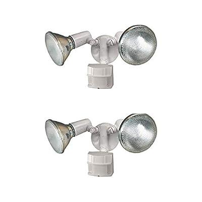 HZ-5411-WH Heavy Duty Motion Sensor Security Light, White