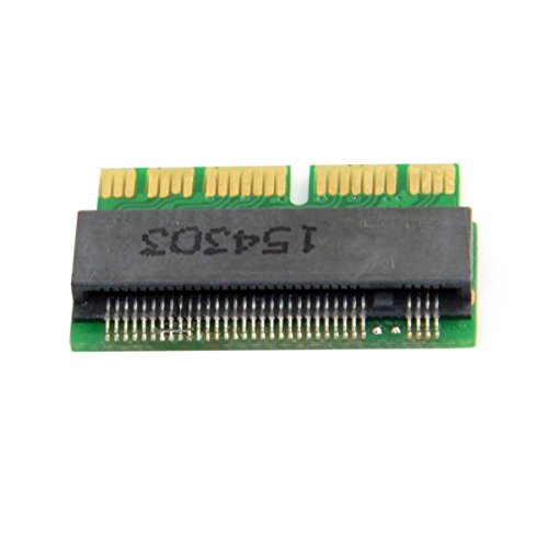CY M.2 NGFF M-Key AHCI SSD to 12+16pin 2014 2015 Convert Card for A1493 A1502 A1465 A1466