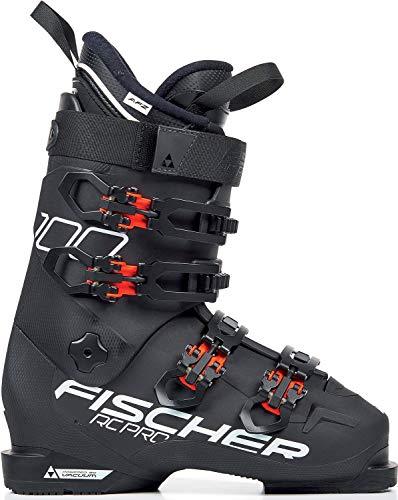 Fischer – volwassenen, 29.5 skischoenen RC PRO 100 PBV, zwart/rood, 30.5, 305