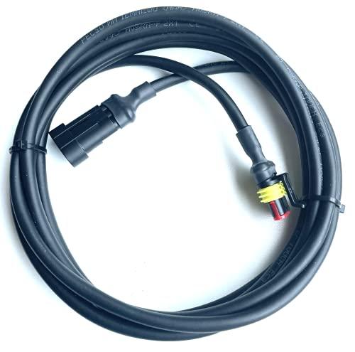 Timbera Niederspannungskabel für McCulloch ROB S400, S500, S600 & ROB R600, R800, R1000 – Mähroboter – Verbindungskabel für Transformator Netzteil und Ladestation – (3 Meter)