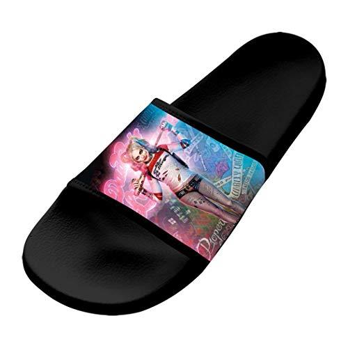 Harley-Quinn-Stand Unisex Slide Slippers Outdoor Indoor Sandals