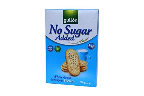 Gullón zuckerfreie Mehrkornkuchen mit Ballaststoffen 216g