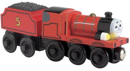 Thomas & Friends - Train en bois - Son et lumière James 99103