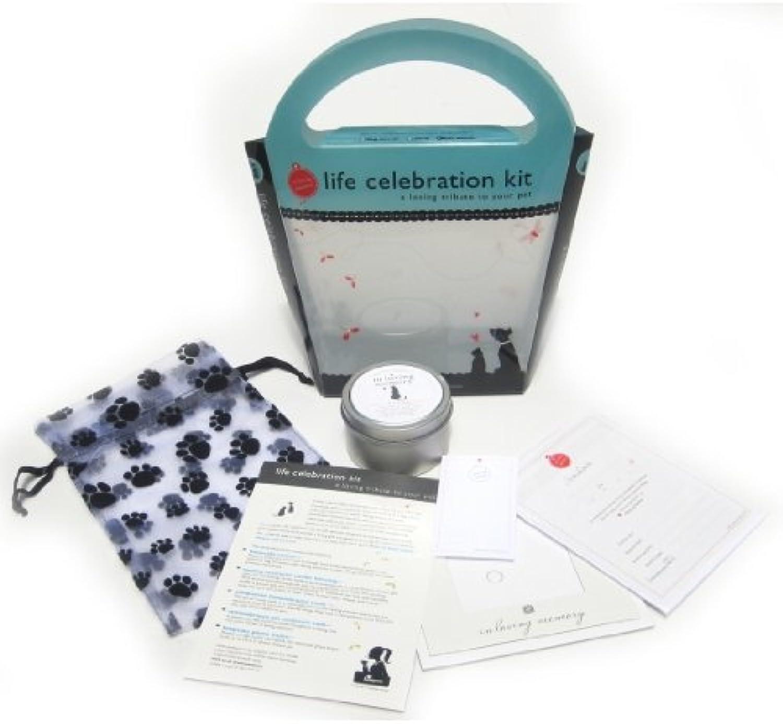 Luxepets LPILMC004KIT In Loving Memory, Life Celebration Kit 4 Cats