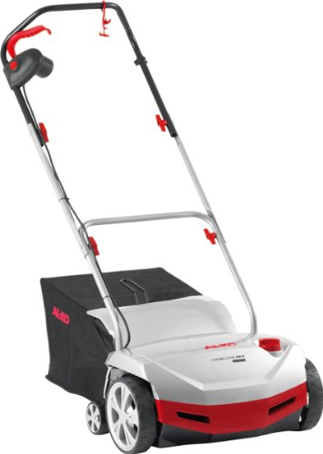 AL-KO Comfort 38E Combi-Care 2 in 1 Lawnrake Collector 1300W Powerful Motor-38cm Wide Width Electric Scarifier, 1300 W, 38cm