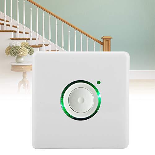 Interruptor temporizador de luz de pared Les-Theresa, 16 niveles AC110-250V Luz LED para exteriores Configuración de tiempo Temporizador de cuenta regresiva digital Interruptor de tiempo en la pared p