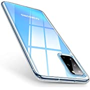 """TORRAS Crystal Clear Galaxy S20+ Plus Case 6.7"""", [Anti-Yellow] Thin Slim Samsung S20 Plus Case Cover, Fully Protective [X-SHOCK] Soft Silicone Shockproof Samsung Galaxy S20 Plus Phone Case-Full Clear"""