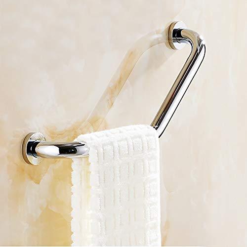 RXX666 Badewannengriff Wannengriff Edelstahl,Chrom Anti-Rutsch Handgriff Haltegriff Badezimmer Badewanne Wanne Sicherheit Griff,für WC Dusche Senioren Behindertengerechter,Handtuchhalter