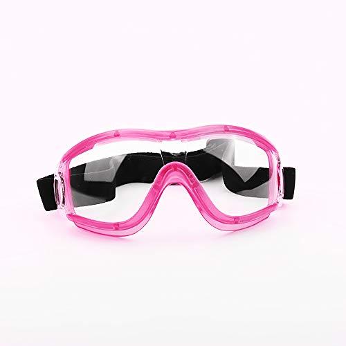 TOMYEER Gafas de seguridad profesionales anti arañazos y protección UV gafas gafas de seguridad gafas gafas gafas gafas de seguridad gafas gafas gafas rosa