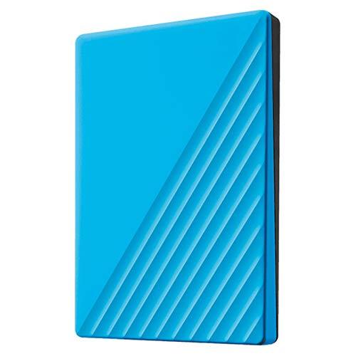 QIAO Portable, 1 TB, Disco Duro Externo, HDD, USB 3.0 para PC, Ordenador Portátil Y Mac,Azul,1TB