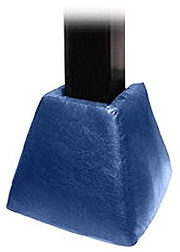 First Team FT77 Foam-Vinyl Gusset Pad for 6 in. Crank Adjust Base Only44; Royal Blue