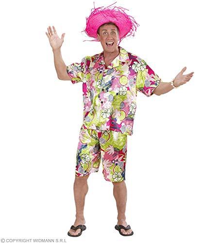 WIDMANN Disfraz de Hombre Hawaiano Adulto Carnaval