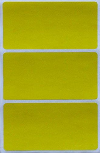 Royal Green Pegatinas de Colores Amarillas para Escribir 10cm x 5cm (100mm x 50mm) Etiquetas Adhesivas 150 Unidades
