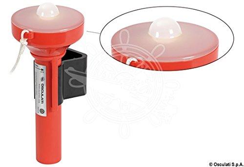 Kleine Leuchtboje mit LED Stroboskopleuchte mit MED Zulassung
