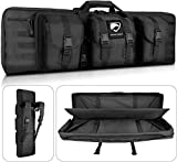 Feastoria Double Long Soft Rifle Case, American Gear Durable Tactical Carbine Rifle Bag & Multi-Function Gun Bag, Perfect for Rifle and Pistol Storage or Transportation,Available Length in 42'