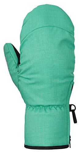 PONTAPES(ポンタペス) スノーボード グローブ キッズ ミトン 耐水圧10,000mm 全13色 130-150サイズ PJR-201JM ダークミント 150サイズ 手ぶくろ 手袋 てぶくろ スノーグローブ スノボ スノボー スキー グローブ?スノーボードウェア スノボウェア