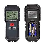 Ein Instrument mit zwei Verwendungszwecken. Es kann gleichzeitig das elektrische Feld und die Magnetfeldstrahlung testen. Sound-Light-Alarm: Wenn das Testergebnis den sicheren Wert überschreitet, gibt das Gerät automatisch einen Alarm aus. Datenverri...