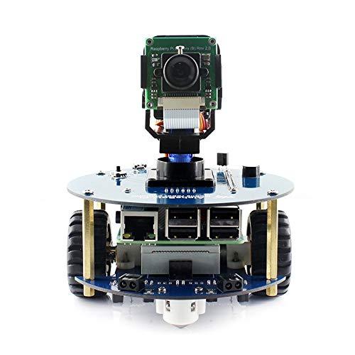 Codici di scansione Reader bidimensionale LLD AlphaBot2 Kit Costruzione del Robot for Raspberry Pi 3 Modello B WIFI232-A2, industriali ad Alte Prestazioni WiFi Modul