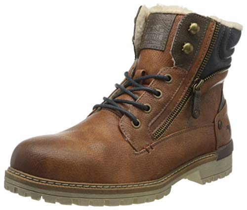 MUSTANG Herren 4142-601-307 Klassische Stiefel, Braun (Cognac 307), 44 EU