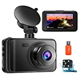 Best Dash Cameras - Upgraded Dash Cam Front and Rear Camera 1080P Review