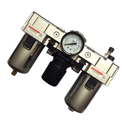 YUQIYU 1/2' Filtro de Aire Relief Regulador Válvula reguladora de AC4000-04 Indicador de presión