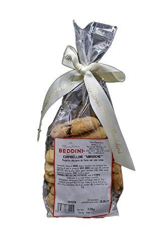 Forno Pasticceria Beddini, Ciambelline ubriache, biscotti secchi, prodotto dolciario da forno con vino rosso e anice, sacchetto 300 g
