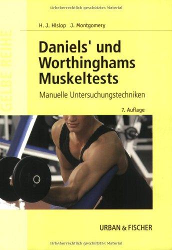 Daniel's und Worthingham's Muskeltests: Manuelle Untersuchungstechniken