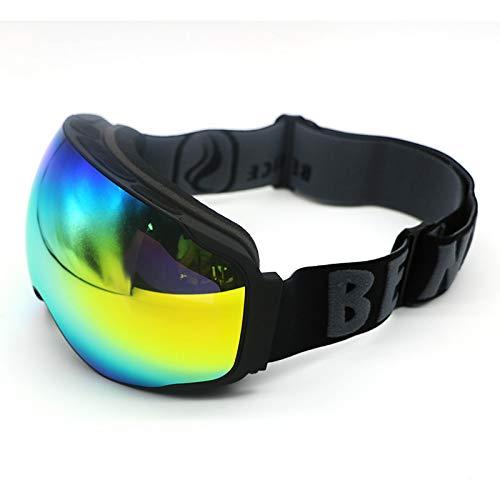 LOLIVEVE Gafas De Esquí Capas Dobles Uv400 Antiniebla Gran Máscara De Esquí Gafas Esquí Hombres Mujeres Snow Snowboard Goggle
