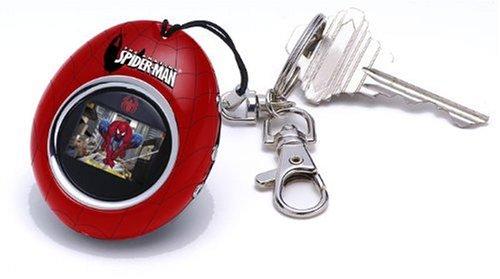 Spider-Man DKC 01 SP Schlüsselanhänger mit Digitaler Bilderrahmen (2,8 cm (1,1 Zoll) CSTN-Farbdisplay) rot/blau