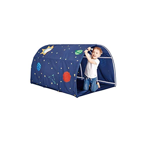 Jadore Tunnel Tent for Twin Beds Space Galaxy