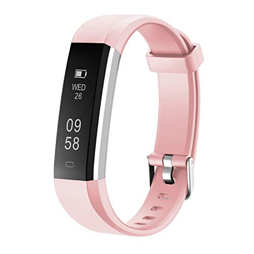 LETSCOM Fitness Tracker, Activity Tracker with Step Counter Watch and Sleep Monitor, IP67 Waterproof Fitness Wristband as Calorie Counter Pedometer Watch for Women Men