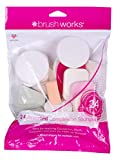 Brushworks Set de 24 Piezas de Esponja de Maquillaje Diferente 21 g (5060455141142)