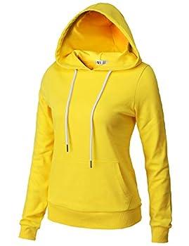 yellow hoodies for women