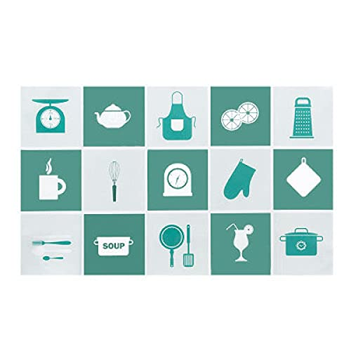 Dos pegatinas de pared para azulejos de estufa para el hogar, autoadhesivas, resistentes al aceite de alta temperatura, cocina, comedor, estufa, decoración de azulejos de cerámica45 * 75 cm