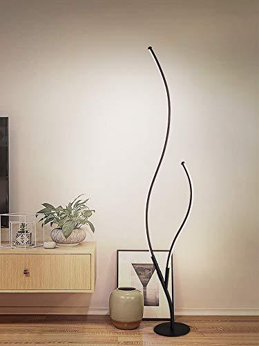 Lámpara De Mesa Dormitorio Cama De Noche Creativa Romántico Cálido Hogar Simple Moderna Red Lámpara De Mesa Luz cálida Lámpara de pie negra