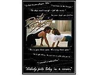 ダーティダンシング-誰も赤ちゃんを隅に置きません映画壁アートポスターキャンバス絵画リビングルーム家の装飾壁の装飾(60X90Cm)-24x36インチフレームなし