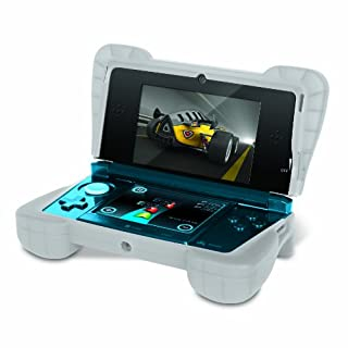 "Comfort Grip for Original 3DS (Not the ""NEW""  version) – Silicone Protective Cover Gives Your 3DS Armor - (Clear White) (B004LQPFJK) 