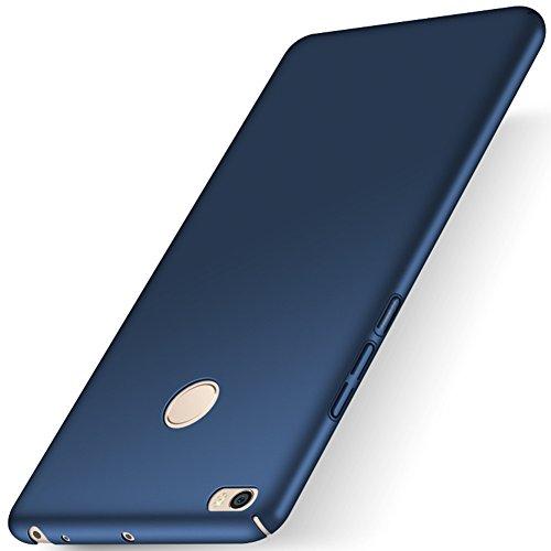 """XMT Xiaomi Mi MAX 2 6.44"""" Funda, Cubierta Delgado Caso de PC Hard Gel Funda Protective Case Cover para Xiaomi Mi MAX 2 Smartphone (Azul)"""