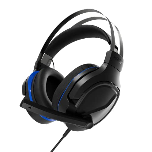 Wage Pro Universal Gaming Headset - Black/Blue (WMAGY-N116)