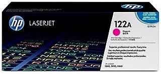 HP Q3963A 122A Color LaserJet 2550 2550 2800 2820 2830 2840 Toner Cartridge (Magenta) in Retail Packaging
