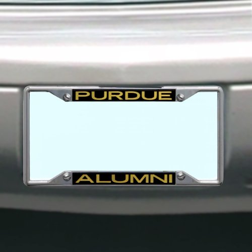 Stockdale NCAA Purdue Boilermakers Kennzeichenrahmen Alumni