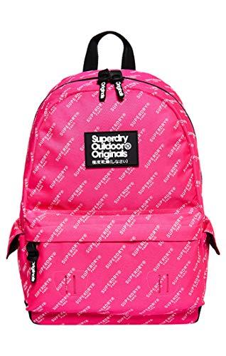 Superdry Damen Print Edition Montana Rucksackhandtaschen, (Pink AOP K2B), 30x45x13 cm