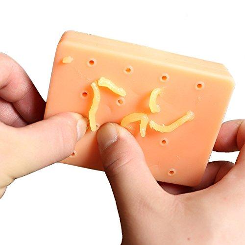 Anboor Pimple Popping Plus Squeeze Divertido Juguetes para el acné Descompresión Alivio del estrés Popper Remover Deja de Escoger tu Cara