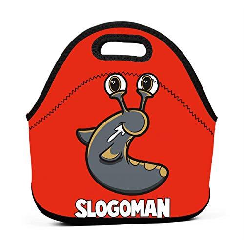 S-Log-Oman portátil Bento lonchera bolsa multifunción cremallera bolsa para escuela oficina bolso niños niños