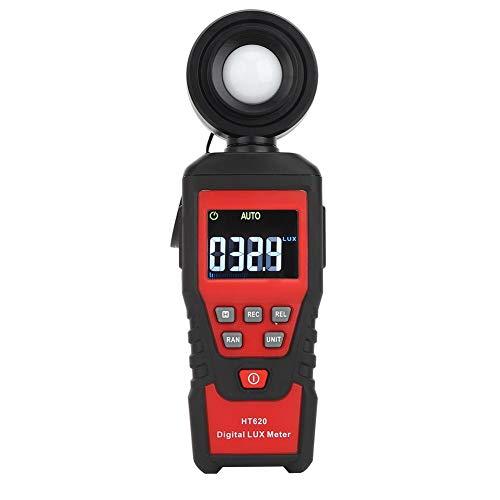 Medidor de Luz Portátil HT620, Luxómetro Digital, Lluminómetro, Instrumento de Prueba con...