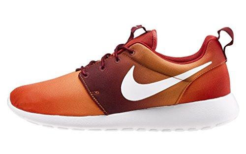 Nike Roshe Run Print Uomo Arancio codice:655206 816 - 45